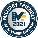 Military Spouse Friendly Employer - 2021